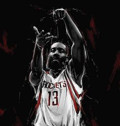 James Harden. Tap to see Collection of Famous NBA