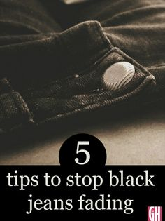 We all hate it when our favourite black jeans begin to fade but there are steps you can take to avoid it happening. We can also tell you what to do if your black jeans have already started to fade.