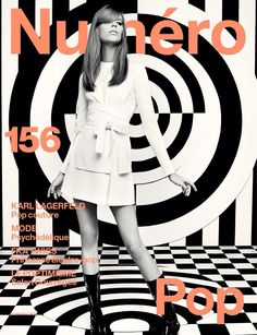 The legendary Karl Lagerfeld captures the cover story for the September 2014 issue of Numero Magazine starring top models Sasha Luss, Lexi Boling and Maartje Verhoef. Karl Lagerfeld, Giorgio Armani, 60s Mod Fashion, Best Fashion Magazines, Versace, Pop Couture, Rodney Smith, Mode Pop, French Women Style