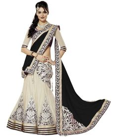 Georgette Party Wear Lehenga Choli in Black Colour.It comes with matching Dupatta and Choli.It is crafted with Lace Work,Patch Work. Net Lehenga, Lehenga Choli Online, Ghagra Choli, Bridal Lehenga Choli, Black Lehenga, Designer Bridal Lehenga, Designer Sarees, Party Wear Lehenga, Lehenga Collection