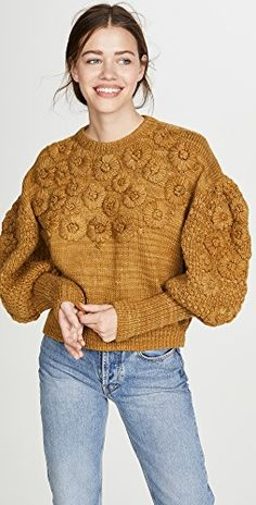 Shop a great selection of Ulla Johnson Ciel Pullover. Find new offer and Similar products for Ulla Johnson Ciel Pullover. Knitwear Fashion, Fashion Socks, Knit Fashion, Womens Fashion, Bishop Sleeve, Ulla Johnson, Diy Photo, Winter Sweaters, S Models