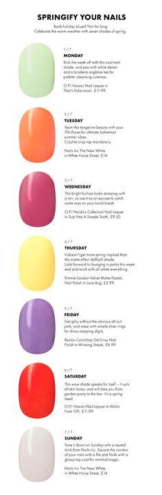 Spring shades for nail art inspo this week. #BayAreaBeauty #CrystalNunezCom
