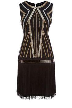 Embellished Flapper Dress  Price: $130.00