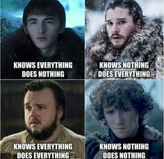 Looking for for images for got memes?Browse around this site for unique Game of Thrones memes. These wonderful memes will make you positive. Game Of Thrones Meme, Dessin Game Of Thrones, Game Of Thrones Rickon, Game Of Thrones Drawings, Khal Drogo, Winter Is Here, Winter Is Coming, Got Memes, Funny Memes