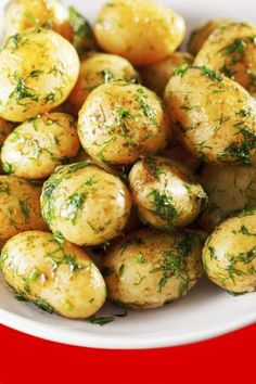 Grilled Garlic and Dill Cookout Potatoes: Yummy Dill Potatoes