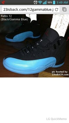 1df381da80b The Air Jordan 12 Gamma Blue XII Sneaker is releasing on December for a  retail of 170 bucks