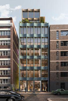 Office Building Architecture, University Architecture, Brick Architecture, Minimalist Architecture, Building Facade, Classical Architecture, Building Design, Creative Architecture, Concept Architecture