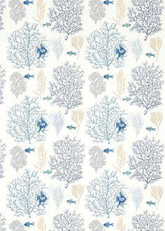 Fabric: Coral & Fish 233300