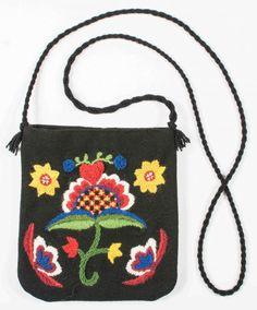 Blomma med hjärta - väska