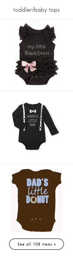 """toddler/baby tops"" by beyondunkwn ❤ liked on Polyvore featuring babies, baby, baby clothes, baby stuff, kids, baby boy, baby girl, babies., boy clothes and baby girl clothes"