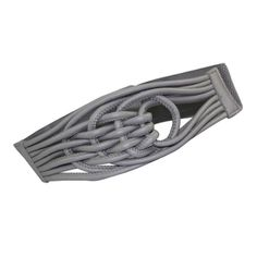 YEDY imitation Chinese knot women's girdle KSTA2601 gray - Ule - This is actually a belt, but it would be a great bracelet
