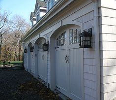 ADL III Architecture Residential farmhouse garage doors
