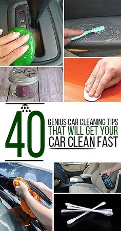 Here are 40 hacks your local car wash doesn't want you to know.