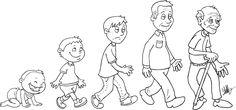 Tall and short Preschool Themes, Preschool Worksheets, Classroom Activities, Human Life Cycle, Mini Canvas Art, Teaching Aids, Human Development, Circle Of Life, Disney Drawings