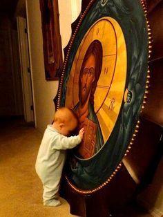 Bebé rezando