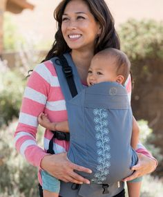 Beco Soleil - Enzo Grey...good for petite moms and cross strap carry option for shoulder slippage 😊