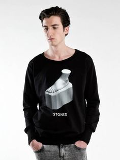 Stoned Sweatshirt | Roba | NOT JUST A LABEL