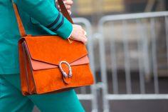 #Gucci bag at #MFW - See more fashion week action on The Hub