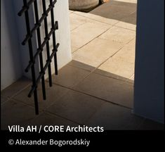 Image 14 of 27 from gallery of Villa AH / CORE Architects. Photograph by Alexander Bogorodskiy Villas, Feng Shui, Crittall, Beach Weather, Concrete Stairs, Portugal, Open Space Living, Living Environment, Entrance Doors