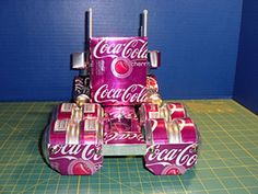 Can Craft Models From Sodaplanes Aluminum Can Crafts, Aluminum Cans, Coke Can Crafts, Beer Can Art, Coca Cola Can, Pop Cans, Scrap Metal Art, Airplanes, Diy And Crafts