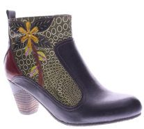 Spring Step L'Artiste Leather Ankle Boots - Dramatic - A337299