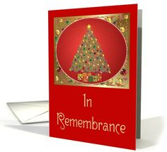 Christmas-In Remembrance-Tree-Gifts card