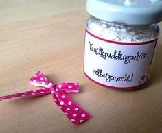 Rezept Vanillepuddingpulver selbst gemacht - mit Variation von Applecake - Rezept der Kategorie Grundrezepte