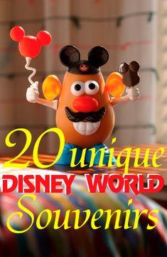 20 unique Disney  World souvenirs