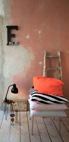 Terracotta als interieur kleur
