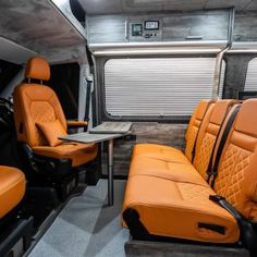 THE NWCC CRAFTER NUGGET CONVERSION - New Wave Custom Conversions Sprinter Van Conversion, Camper Van Conversion Diy, Table Storage, Locker Storage, Black Rhino Wheels, Transit Camper, C Table, Vw Crafter, Furniture Board