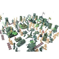 122pcs Army Combat Soldier Action Figure Tank Model Kit Military Wargame Toy. #Army #Combat #Soldier #Action #Figure #Tank #Model #Military #Wargame