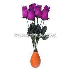 rosa-grande-morada Grande, Plants, Wooden Flowers, Roses, Plant, Planets