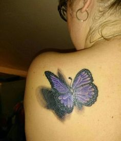 ... 3D butterfly tattoos on Pinterest | For women Tattoo ideas and Search