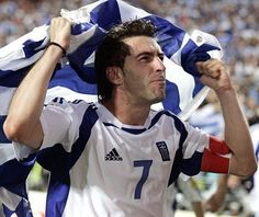 #happybirthday to Theo #Zagorakis - Greek legend  UEFA Euro 2004 winner and the Best player of the tournament  #Greece #paok #kavala #aekathens #leicester #legend #bologna #euro2004 by retro_football_photo
