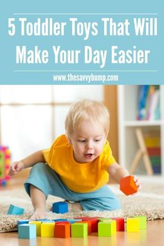 A busy toddler is a happy toddler and these 5 toys will make a mom's day much easier! A busy toddler is a happy toddler and these 5 toys will make a mom's day much easier! Toddler Snacks, Toddler Preschool, Toddler Toys, Baby Toys, Kids Toys, Toddler Stuff, Baby Play, Parenting Humor, Parenting Hacks