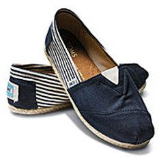 Toms TOM ROPE NAVY (