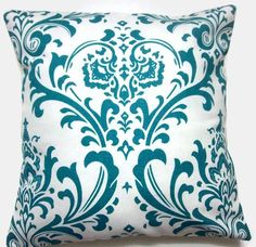 throw pillow - http://www.etsy.com/listing/71856726/two-turquoise-white-pillow-covers?ref=hp_tt_yt
