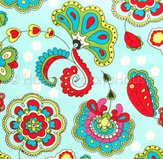 Love this fabric. The colors are fabulous.