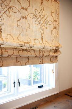 Custom Roman Shade Window Treatment in Osborne and by rerackgals, $99.00