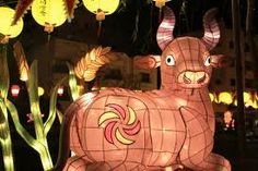 animal lanterns - Google Search Tissue Paper Lanterns, Lantern Designs, Lantern Festival, Puppets, Festivals, Deer, Cool Designs, Masks, Lights
