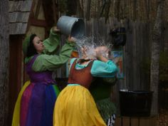 The Village Washer Wenches (Angela Castiglia,  Avalon Rose Hannibal and Casie Lester) at Carolina Renaissance Festival.