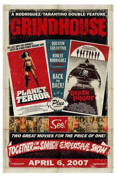 GrindHouse -Planet Terror  Deathproof- (2007)