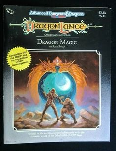 Dragonlance Dragon Magic - Official Game Adventure - Dungeons & Dragons 9 of 10!