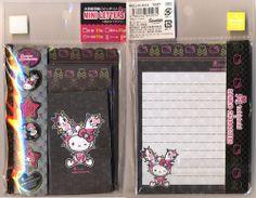 Sanrio x Tokidoki Hello Kitty sealed full mini letter set stationery stationary