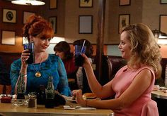 Pin for Later: Have You Figured Out Where You Know All These Mad Men Guest Stars From? Marley Shelton On Mad Men: Shelton plays Mary Kay girl Kate, Joan's longtime friend who comes into town and gets Joan to have a little fun.