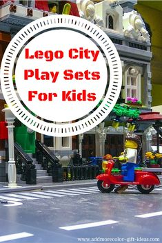 Make your own city with awesome Lego Play Sets for Kids.