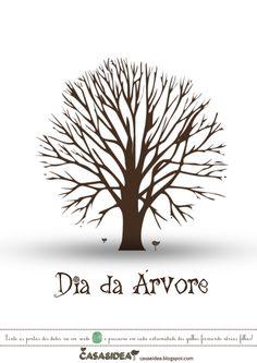 CASA: Dia da árvore! Arte e pintura para crianças!