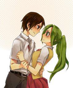 Higurashi / Keiichi and Mion