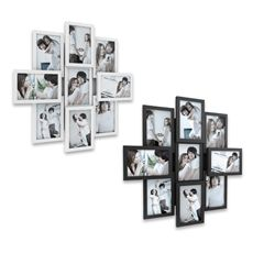 For wedding pictures. $40 at BB Twist and Peg 9-Opening Collage Frame