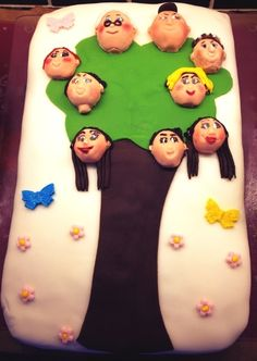 Family Tree Cake - Leave it to me